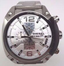 Diesel DZ4203 Chronograph Stainless Steel White Dial Watch Men's
