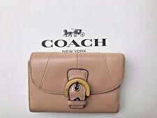 Coach Letter Wallet Soho Buckle Beechwood Nude Light Pink Peach