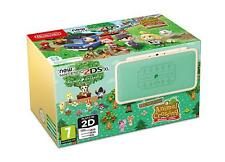 Nintendo 2ds XL Animal Crossing Leaf Welcome Amiibo