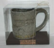 NEW Rare Kultura Philippines Mt Pinatubo Volcanic Eruption Ash 6/15/91 Mug Cup