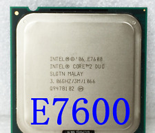 Intel Core 2 Duo E7600 3.06GHz 3MB 1066MHz Socket LGA 775 CPU Processore