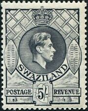 Swaziland (until 1968) Single Stamps