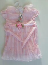 Festliches Mädchen Kleid Größe 92 NEU rosa mit Blume luftig zu tragen Restposten