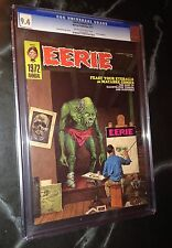 EERIE 1972 ANNUAL #1 CGC High Grade 9.4 NM RARE Magazine NORMAN ROCKWELL spoof