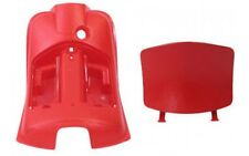 Protector de pierna beinverkleidung y Tapa Rojo Cubierta PIAGGIO Vespa LX 50-150