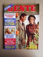 GENTE n°42 1981 Ursula Andress Lady Diana Il pretore di Nardò su Mirko  [D35]