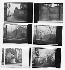 1926 Harvard University Buildings 6 Original Antique 1920s Photos