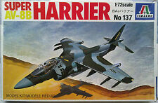 "Italeri 137 AV-8B Super Harrier 1:72 ""Started"" / Angebastelt"
