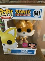 Funko Pop Games: Sonic - TAILS (#641) - FLOCKED Target Con Exclusive - In Hand