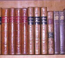 QUENTIN DURWARD, 1ST ED. SIR WALTER SCOTT,  3 VOL. SET,  1823,  LEATHER