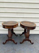 2 Weiman Antique Heirloom Tables Beautiful!