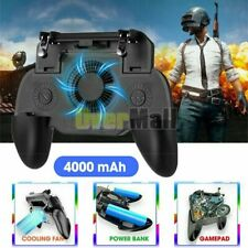 Gaming Grip PUBG Gamepad + Cooling Fan Controller for Android/ios Mobile Phone