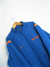NIKE   Men's Blue Puffer Jacket Coat US College Boise State Sports Football   XL
