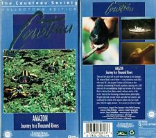 Jacques Cousteau Amazon Journey to a Thousand Rivers VHS Video Tape New