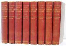 History of the English People Eversley Edition Complete Eight Volume Set.John Ri