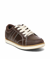 Steve Madden boys' lace-up sneakers /shoes. Brown. New. Youth 3