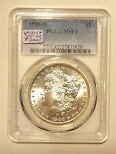 (34) 1900-O Morgan Silver Dollar, VAM-15, Doubled stars, Top 100, PCGS MS-65