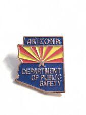 Arizona Department Of Public Safety Pin Law Enforcement Pinback Star