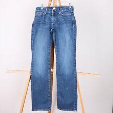 Eddie Bauer Curvy Barely Boot Medium Wash Jeans Womens 4