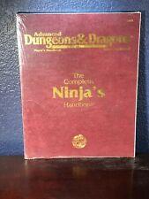 Advanced Dungeons & Dragons NINJA's HANDBOOK Player's Supplement TSR 2155 Guide