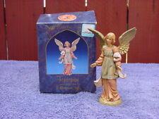 Vintage Fontanina Christmas Figurine-Standing Angel