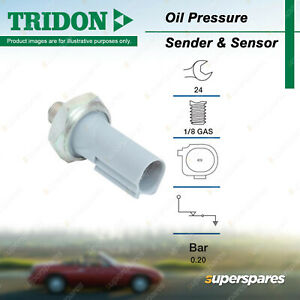 Tridon Oil Pressure Light Switch for Smart ForFour W454 Brabus ForTwo 451