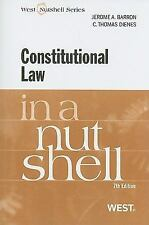 Constitutional Law in a Nutshell, 7th Nutshell Series