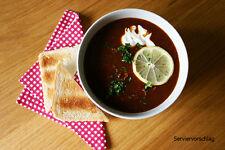 Gulaschsuppe, Eintopf, Suppe, 600 g, haltb.Vollkonserve ideal für Camping, 7€/kg