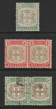 Jamaica Ser.et for Serviet x 3 examples Mint & Used