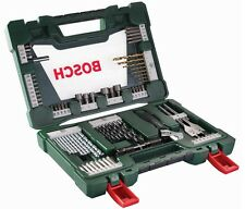 Bosch Multi-Purpose 83 pcs V-line Bit Set-Driver Drill Bits Wood concrete metals
