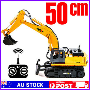 2.4 RC 1:16 Remote Control Excavator Engineering Digger 1510 Car Truck Huina Toy