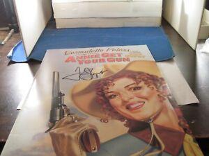 Annie Get Your Gun  Bernadette Peters program signed