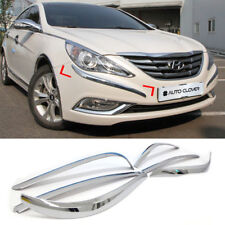 Chrome Bumper Side Molding Protector C330 For HYUNDAI 2011-2014 YF Sonata / i45