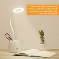 Desk Table Bedside Reading Lamp Dimmable Rechargeable Touch Control Book Light