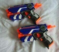 2x Nerf Toy Gun Pistol N Strike Elite Firestrike no Darts