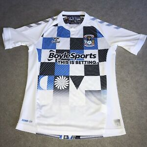 2021 Hummel Coventry City FC Away 3rd Kit City Of Culture Shirt Top Jersey Small