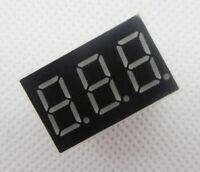 "10pcs 3 bit Common Cathode Digital Tube 0.36"" 0.36 inch Red LED Digit 7 Segment"
