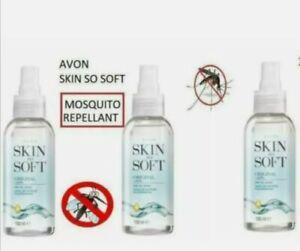 3 x Avon Skin So Soft Original Dry Oil Spray 150ml - insect repellent mosquito