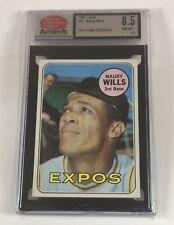 1969 Topps Baseball #45 Maury Wills (Expos) SCD 8.5 NM/MT+ LB05 Not PSA