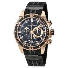 Ulysse Nardin Diver Automatic Mens Chronograph Watch 1502-151-3C/92