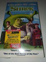 BRAND NEW AND SEALED Shrek (VHS, 2001)