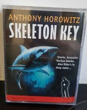SKELETON KEY Alex Rider Anthony Horowitz 6 AUDIO CASSETTES Factory Sealed