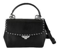"**MICHAEL KORS ""AVA"" Black Leather Leather Crossbody Bag   Msrp $228.00"