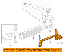 Chevrolet GM OEM 15-16 Trax Turbo Turbocharger Intercooler-Lower Baffle 95368411