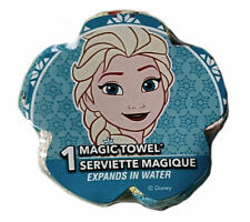 Frozen Disney Magic Face Washer Towel Frozen Elsa Snow Childs Bathtime Cotton