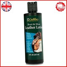 Cadillac Boot & Shoe Leather Conditioner and Leather Cleaner Lotion 8 oz- & - &