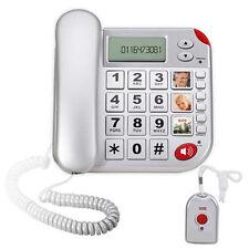 TELEFONO SALVAVITA PER ANZIANI CON TELECOMANDO DA APPENDERE PORTARE AL COLLO