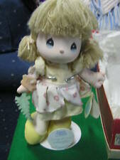 """1989 Precious Moments Doll W/Stand """"Songs of Love"""".Sale Free Postage Usa"""