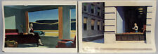 2 Offset-Estampes EDWARD HOPPER New York Office/Western Motel 99863017