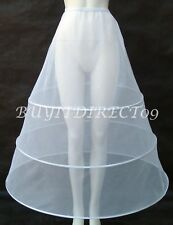 NEW 3 HOOPS Petticoat, Slip,Flower Girl / Holy Communion Pageant 15 YEARS - UK
